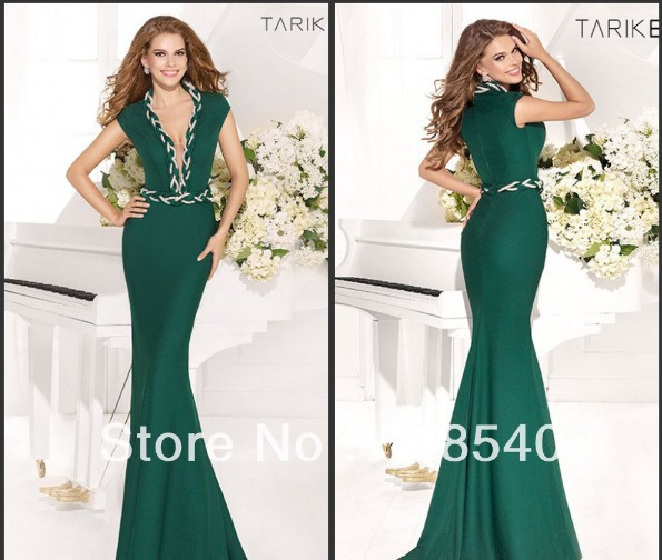 Vestido De Festa Robe De Soiree 2018 New Fashion Hot Long V-neck Long Party Evening Gown Mermaid Prom Mother Of The Bride Dress