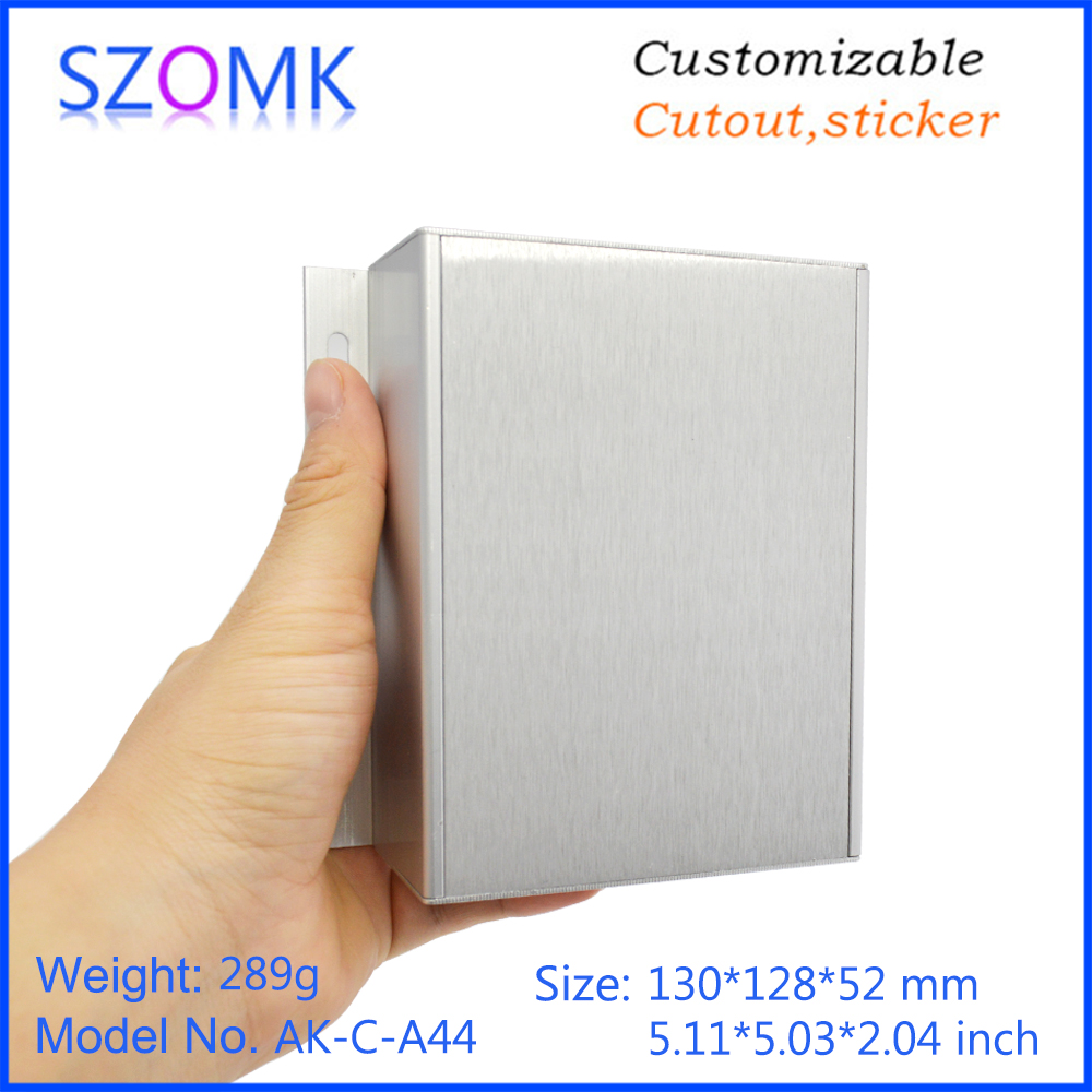 szomk aluminum enclosure for electronics device housing for pcb design audio aluminum control box enclosure casing (14)