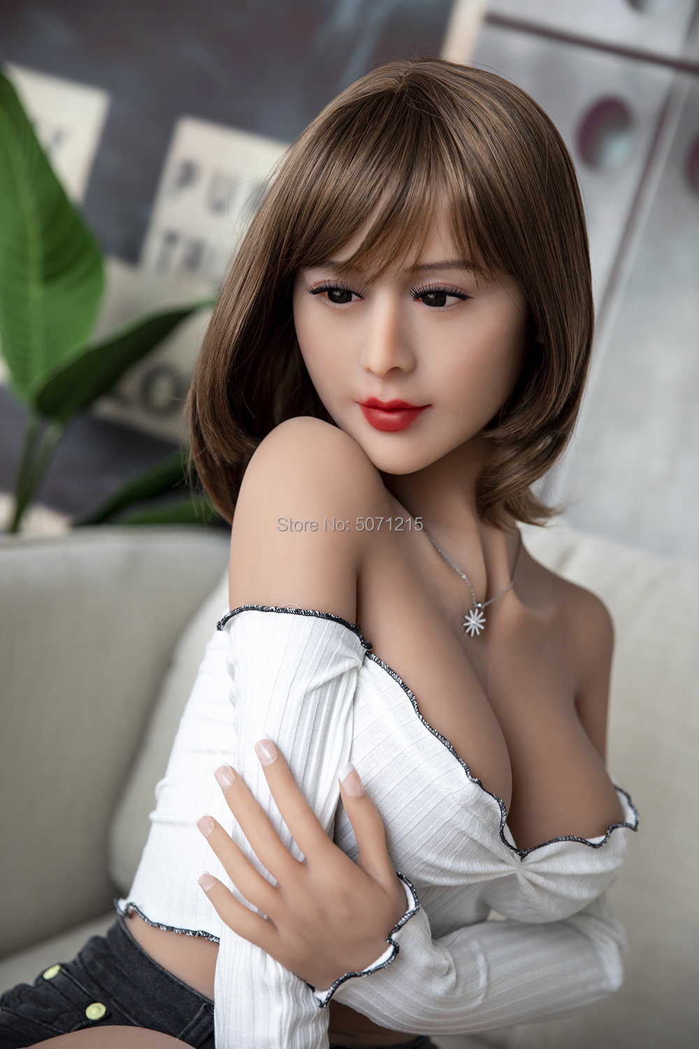 <font><b>166cm</b></font> <font><b>Sex</b></font> <font><b>Dolls</b></font> Chinese Famous TV Star Love <font><b>Doll</b></font> Soft tpe <font><b>Sex</b></font> Toy with Bobs Hair Styling for Men Masturbation image