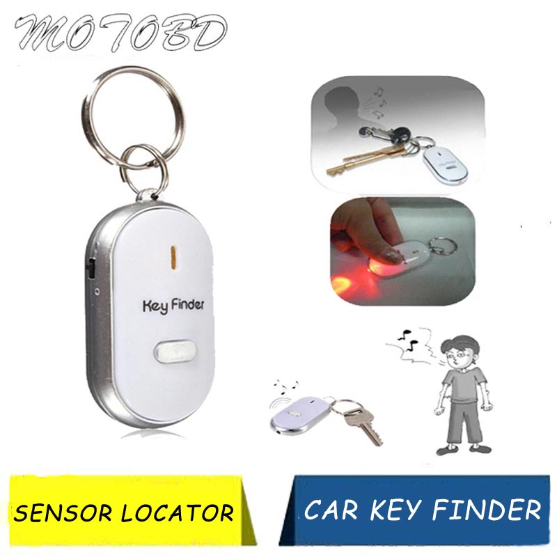 High Quality Anti Lost Car Key Finder Sensor Locator Find Lost Keys Chain Keychain Whistle Sound Control Auto Key Programmers Aliexpress