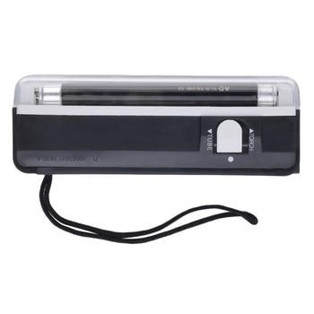 цена на Newest Portable Handheld UV Led Light Torch Lamp Counterfeit Currency Money Detector New