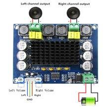 TPA3116D2 גבוהה כוח דיגיטלי מגברי מודול ערוץ כפול Amplificador 2*120W לוח צליל מגבר אודיו עבור רמקולים סטריאו