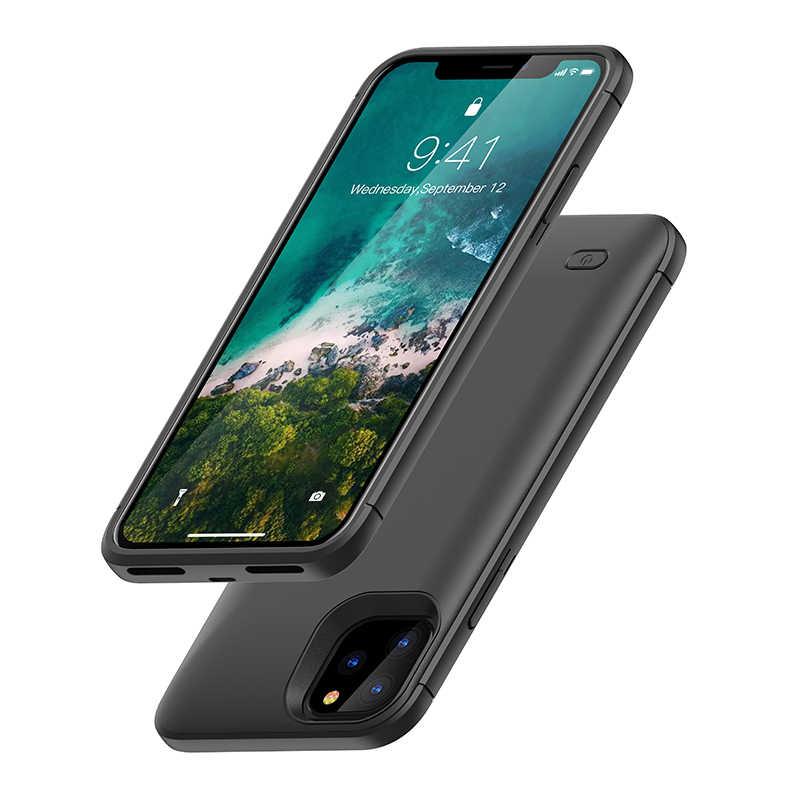 NENG 6200mAh סוללה מטען מקרה עבור iPhone11ProMax סוללה כוח בנק טעינה כיסוי מקרה עבור iPhone11 11Pro מטען בחזרה חבילה