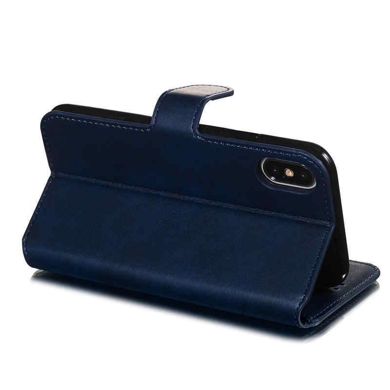 Роскошный Ретро кошелек флип-чехол для телефона iPhone 7 8 Plus 6 6s Plus X XR XS 11 Pro Max кожаная сумка с отделением для карт Etui