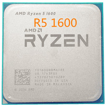 AMD Ryzen 5 1600 R5 1600 3.2 GHz Six Core Twelve Thread 65W CPU Processor YD1600BBM6IAE Socket AM4