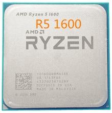 Processador amd ryzen 5 1600 1600 ghz, cpu r5 six core e twelve threads, 65w soquete am4