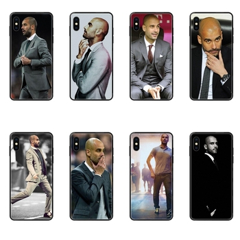 For Huawei Honor 6A 7A 7X 8C 8X 9 9A 9I 9X 10 10I 20 20I 20S Lite Pro For Junior World Famous Pep Guardiola Black Soft TPU image