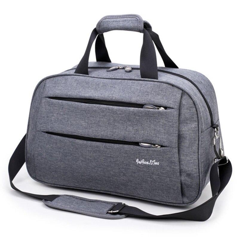Travel Duffle Waterproof Travel Bags Hand Luggage Men Canvas Large Weekend Shoulder Dufflle Bag Women Carry Cabin Wear Resistant