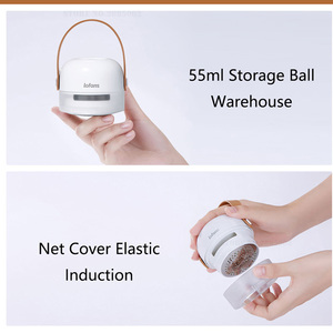 Image 3 - Xiaomi Lofans Draagbare Lint Remover 8 Blades Hair Ball Trimmer Trui Remover 3W 7000r/Min Motor Trimmer Type C Opladen Poort