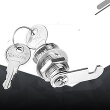 Zinc Alloy Mailbox Cabinet Lock Keyless Cam Lock for Boat Door Bus Cabinet Toolbox Hand Screw Hardware Locks(China)