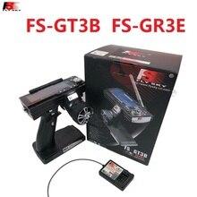 Flysky FS-GT3B GT3B 2,4G 3CH lcd передатчик Радио Модель пульт дистанционного управления и приемник для RC автомобиля лодки