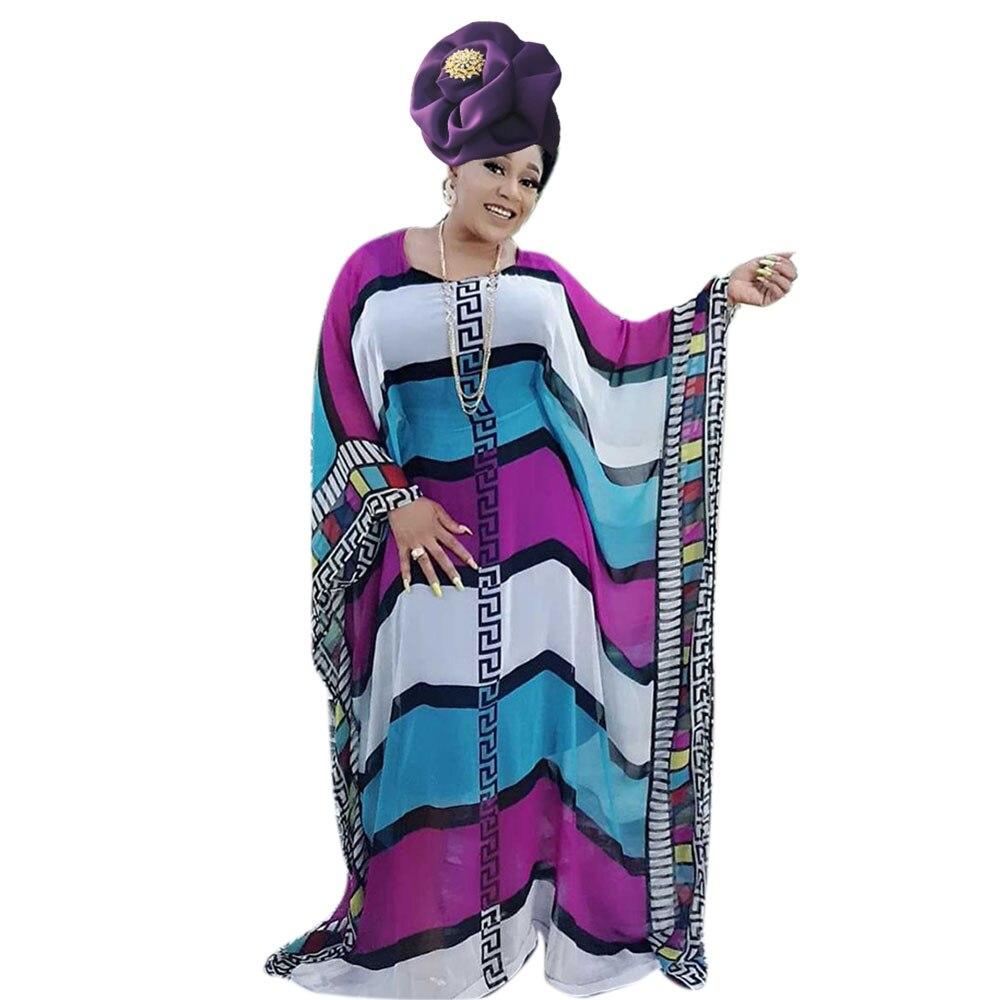 African Dress For Women Kaftan Maxi Dress Dashiki Bubu Chiffon Gowns For Party Big Plus Size