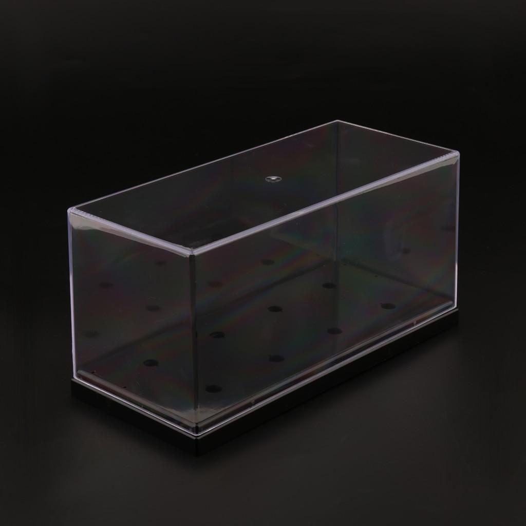 Premium LP Vinyl Record Turntable Cartridge Headshell Keeper Case Box Clear