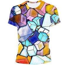 2021 camiseta 3d summerfun encarnação impressão camiseta masculina e feminina camisetas moda manga curta