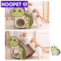 Juguete para gatos rascador para gatos HOOPET, alfombrilla suave para cama, alfombra, garras cuidado, juguetes, rascador corrugado, muebles para mascotas