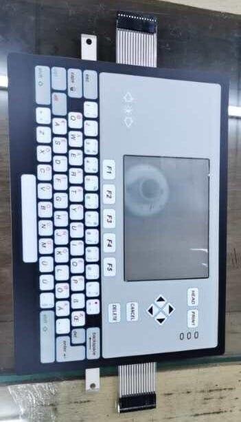 For Videojet 1620 Printer Keypad Keyboard Film Coder Printer Accessories New Button Board Keyboard Cover  Membrane Switch
