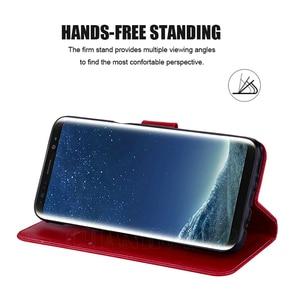 Image 5 - 3D Blume Ledertasche Für Samsung Galaxy S9 S8 S10 Plus S20 Ultra A51 A71 A50 A21S A31 A41 A01 a11 A30S A10 A20 A40 A70 Abdeckung