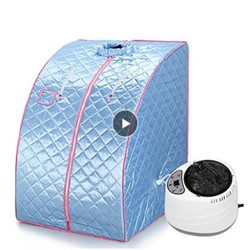 5 kleuren Draagbare Home Stoomsauna Tent Gewichtsverlies Calorieën Detox Verlichten Bad SPA Sauna Tas Afstandsbediening Afslanken Verlies Ontspant moe