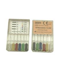 Стоматологический распределитель из нержавеющей стали для чистки корней стоматология 25 мм 15-40