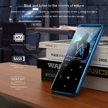 เสียงใหม่แบบพกพาWalkman Sport Bluetooth MP3ผู้เล่นโลหะMini 1.8นิ้วหน้าจอFM Bluetooth 5.0 Back Lightปุ่ม