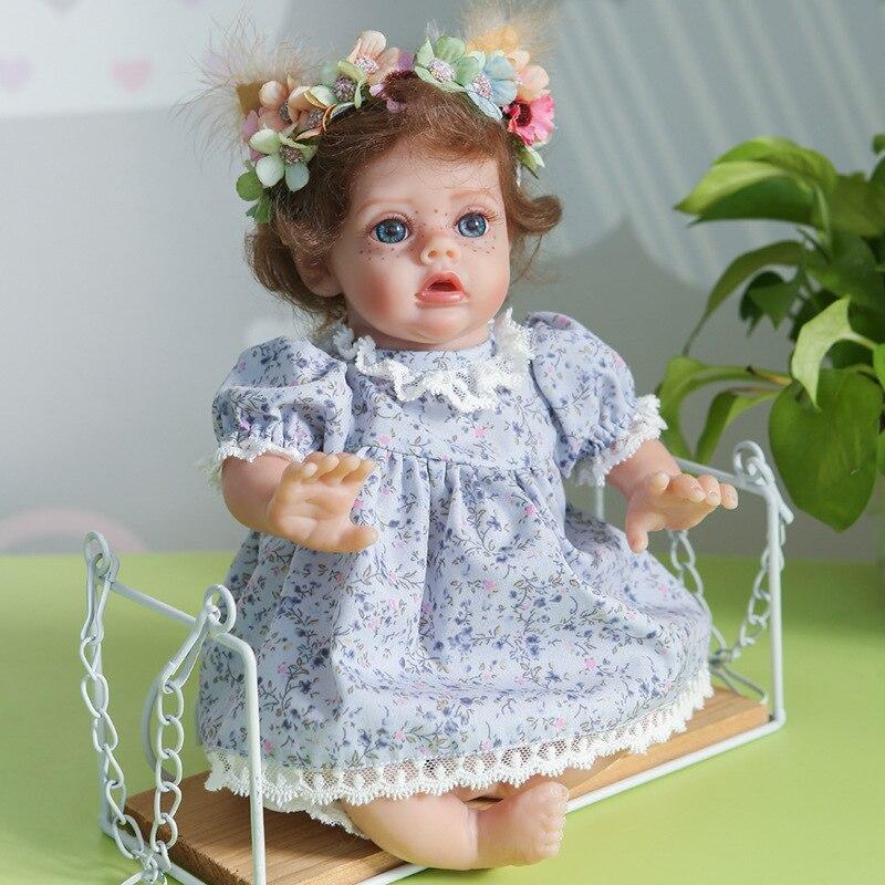 30cm 11 Zoll Reborn Baby Puppe Entzückende Simulation Fee Puppen Silikon Mini Lebensechte Puppe Spielzeug Neue Jahr Geschenk Fotografie requisiten