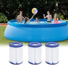 Плавательный картридж для фильтра бассейна размером II для плавательного Бассеина 58094 тип насоса 2 надувной бассейн аксессуары