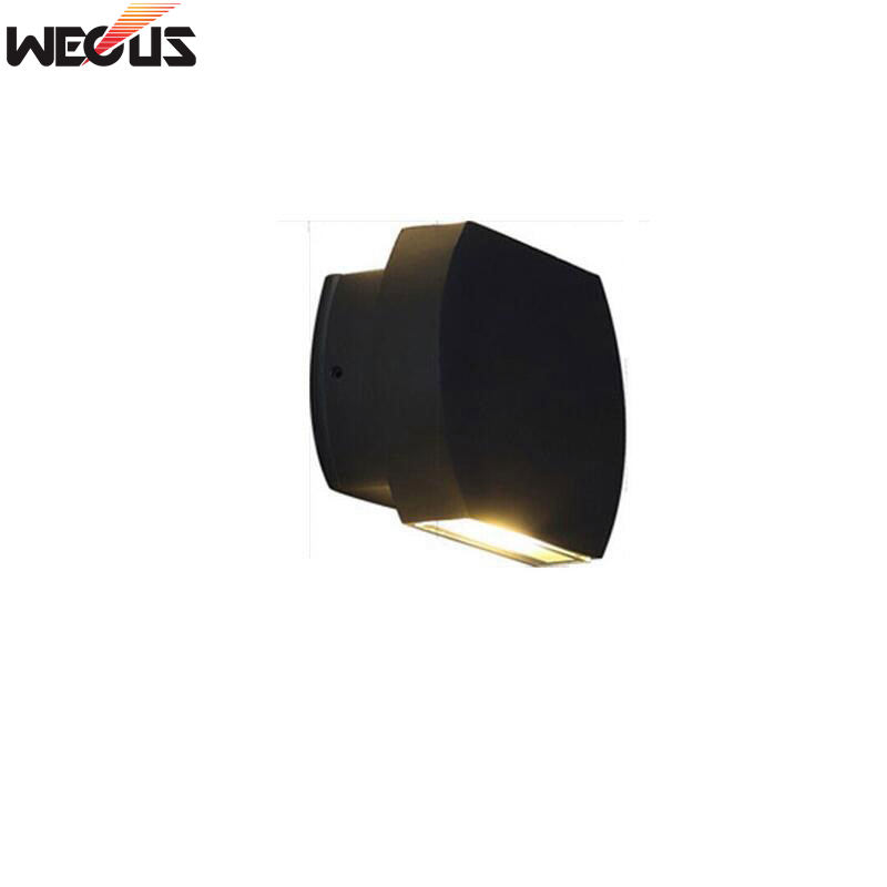 Outdoor waterproof wall lamp, modern minimalist double-headed patio courtyard balcony outdoor lamp