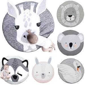Carpet-Toys Photo-Props Room-Decor Play Round Baby Children Crawling-Pad Cute Cartoon