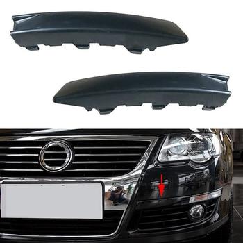 цена на Auto Left Right Side Marker Front Bumper Stripe Cover for VW Passat B6 2007 2008 2009 2010 2011 3CD807645 3CD807646