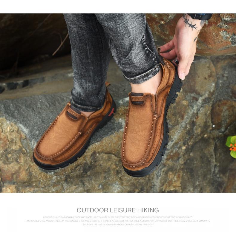 Haa5fb48c1ef34cc29a69b7a5facd775ff Men Casual Shoes Sneakers 2019 New High Quality Vintage 100% Genuine Leather Shoes Men Cow Leather Flats Leather Shoes Men