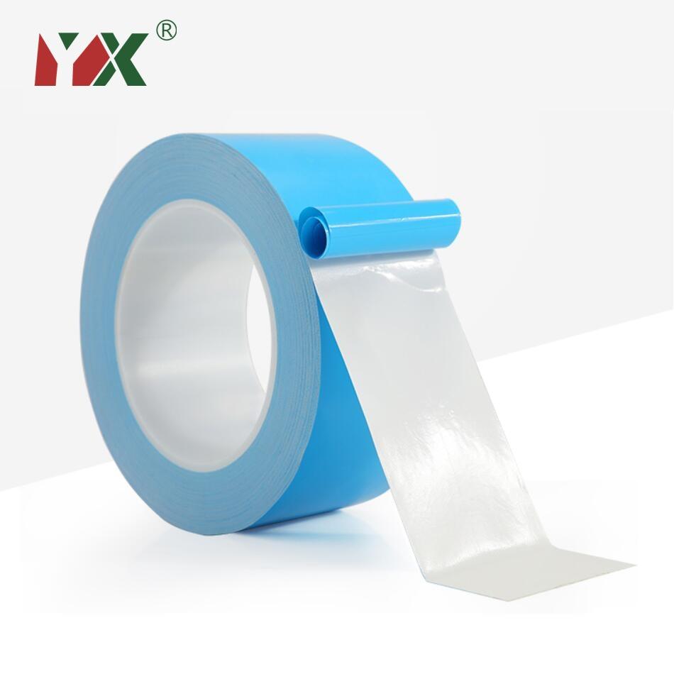 Термолента YX 25 м/рулон, двусторонняя Теплопроводящая клейкая лента для чипа, печатной платы, процессора, Светодиодная лента, светильник, теп...
