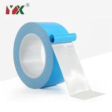 Yx 25 medidor/rolo fita de transferência de calor, dupla face térmica condutor, fita adesiva para chip, cpu, led luz dissipadora de calor