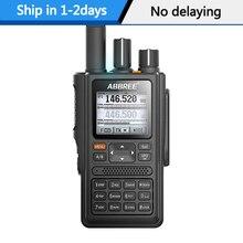 ABBREE AR F8 GPS Обнаружение местоположения всех диапазонов (136 520 МГц) Частота/детектор CTCSS 1,77 LCD 999CH рация