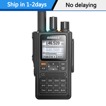 ABBREE AR F8 GPS location Sharing All Bands(136 520MHz) Frequency/CTCSS Detection 1.77 LCD 999CH Walkie Talkie