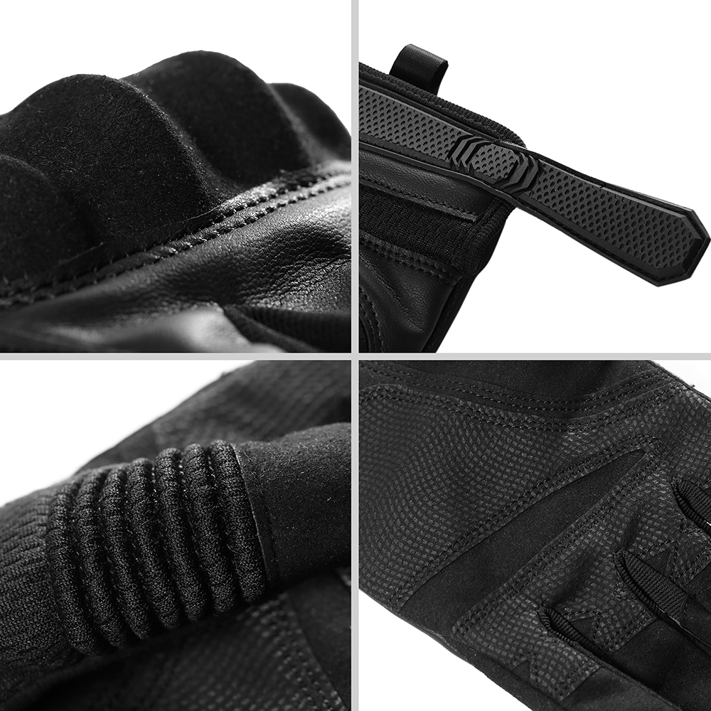 Image 5 - Touch Screen Motorcycle Gloves Moto Motorbike Motocross PU 
