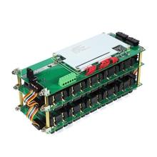 74V 20s mur dalimentation 18650 batterie 20S Bms Li ion Lithium 18650 support de batterie BMS bricolage Ebike Battery20S boîte de batterie