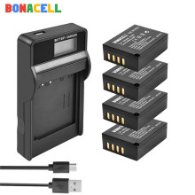Bonacell For Fujifilm NP-W126 NP-W126S Battery +LCD Charger Replacement for X-M1 X-A1 X-T1 X-E1 X-Pro2 NP W126