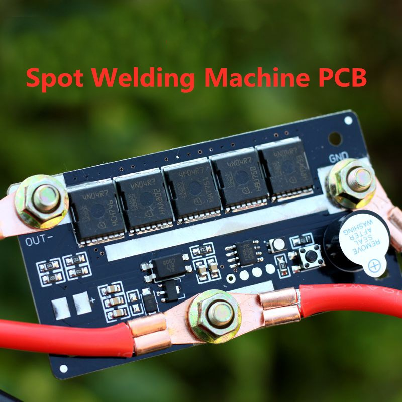 DIY Portable 12V Battery Spots Welder Pen Model PCB Circuit Board Control Welding Machine 18650 Energy Storage Spot Solder|Battery Accessories|   - AliExpress