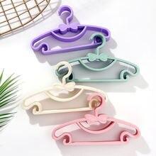Вешалка для детской одежды портативный пластиковый стеллаж вешалка