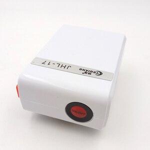Pompa powietrza USB ładowanie akumulator litowy wielokrotnego ładowania moc tlenu sprężarki powietrza akwarium wędkowanie na zewnątrz Super wyciszenie