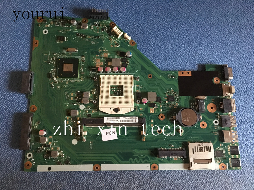 yourui For ASUS <font><b>X55A</b></font> Laptop <font><b>motherboard</b></font> REV 2.1 60-NBHMB1100 integrated Fully Test work perfect image