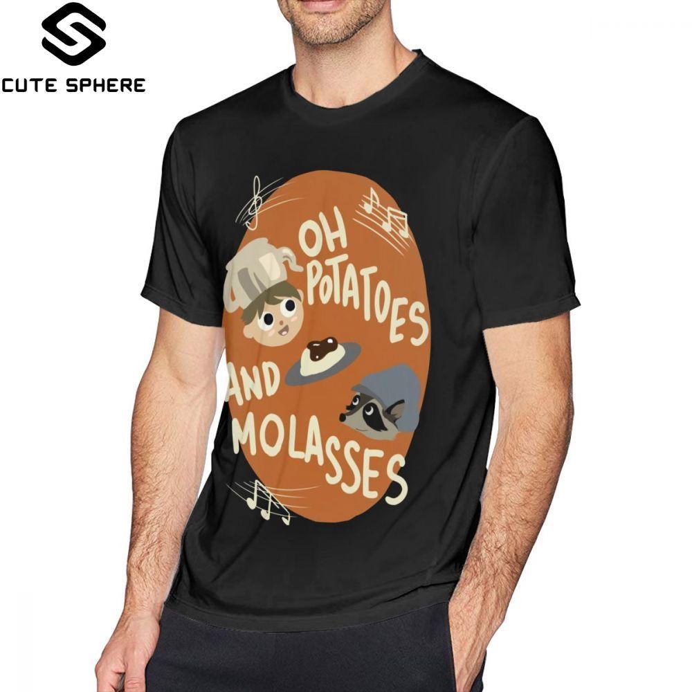 Over The Garden Wall T Shirt Oh Potatoes And Molasses T-Shirt Funny Casual Tee Shirt Printed Short-Sleeve Tshirt