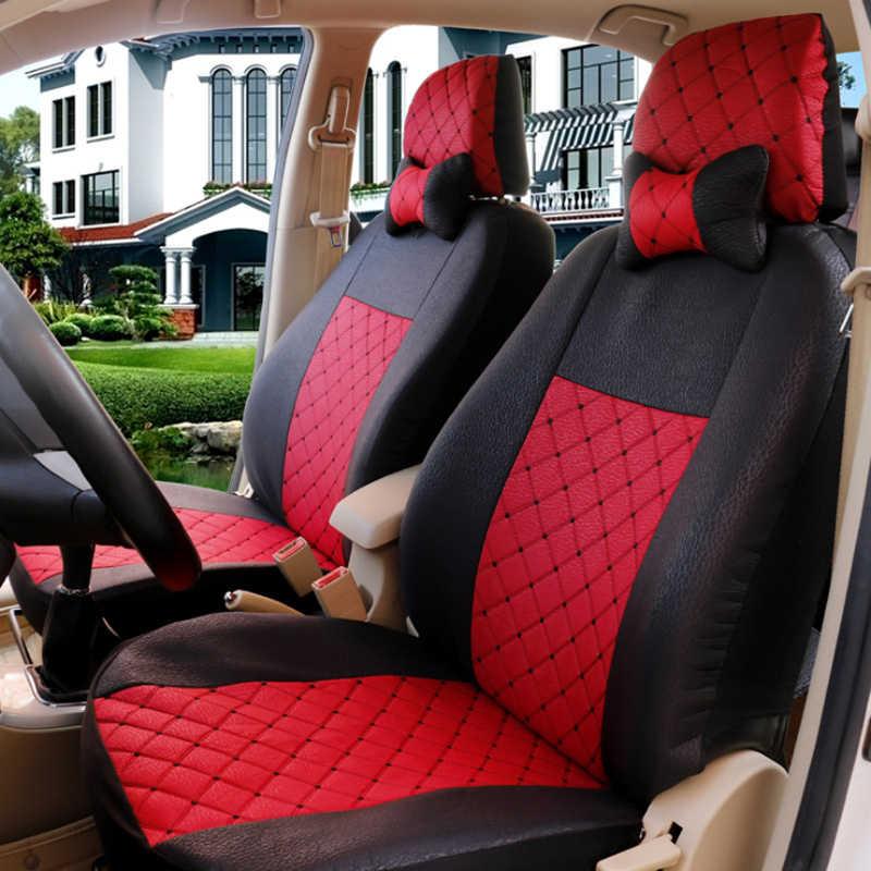 1 комплект Универсальный Автомобильный сиденья пять-местный автомобиль стульев спереди и сзади Защитный чехол Fit Ford Focus Volkswagen Passat