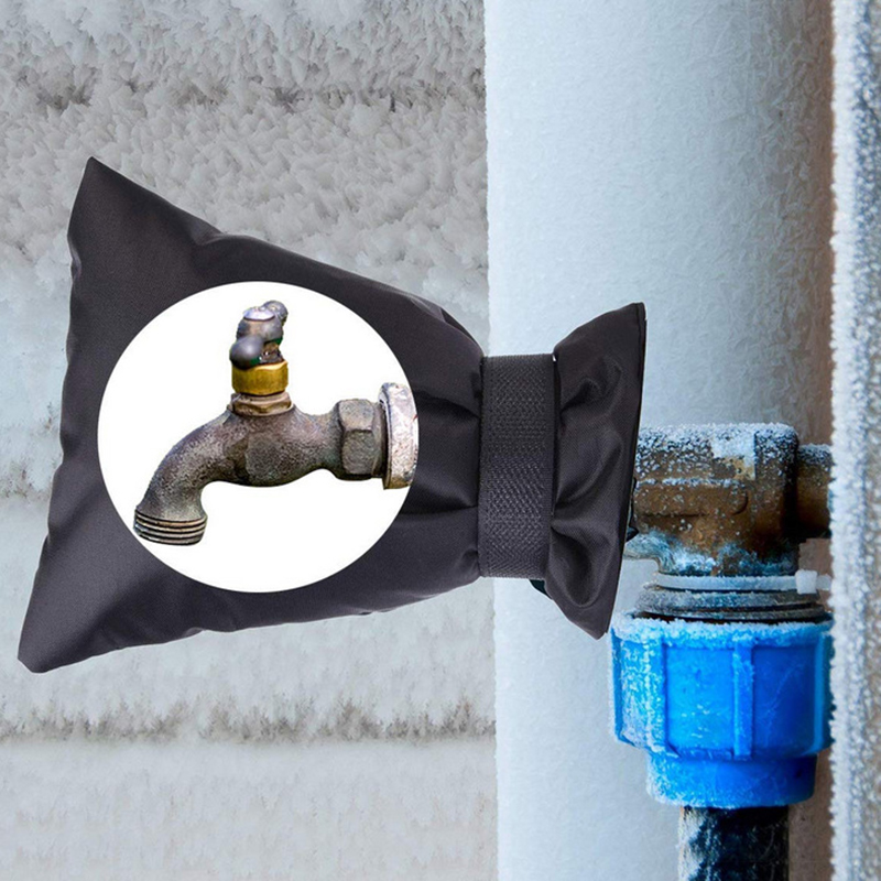 1 шт., чехол для смесителя, защита от замерзания, защита от замеров, защита от замеров на открытом воздухе, экономия на зиму