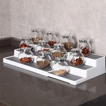 Countertop Organizer Shelf Storage Spice-Rack Seasoning 3-Tier Kitchen-Cabinet Stand