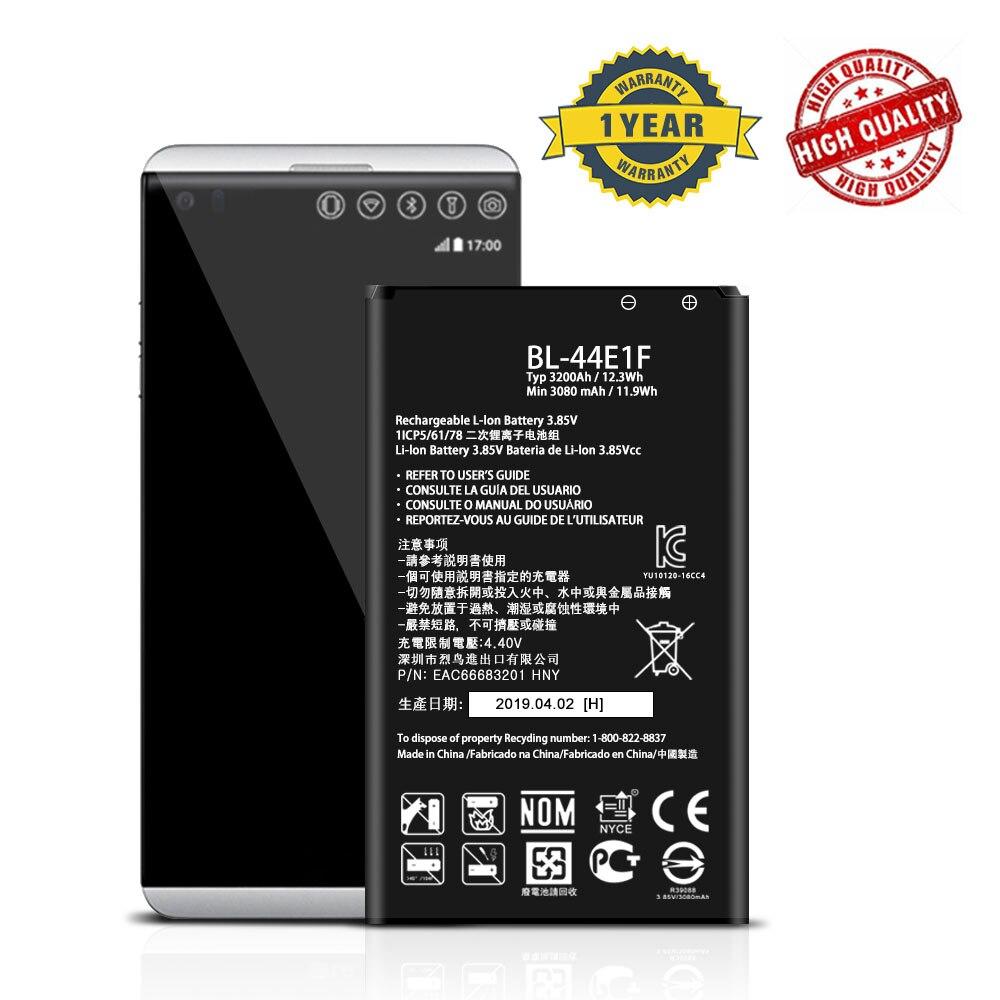 BL-44E1F аккумулятор для LG V20 Stylo 3 H910 H918 H915 VS995 LS99 LS997 US996 F800 H990N