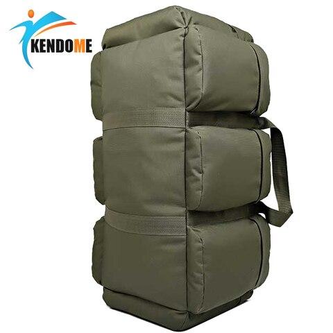 quente 90l grande capacidade militar dos homens tatico mochila impermeavel oxford caminhadas acampamento mochilas desgastar