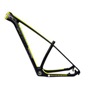THRUST Carbon Frame 29er 15 17 19 Carbon mtb Frame 29 er BSA BB30 Bike Bicycle Frame Max Load 250kg 2 Year Warranty 12 Color(China)