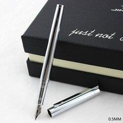 Pióro wieczne 0.5 stalówka lub 0.38mm stalówka jinhao 126 standardowe pióro biurowe i szkolne artykuły papiernicze metalowe pióro atramentowe darmowa wysyłka