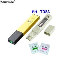 מים מסנן PH מטר דיגיטלי Tester מים באיכות טוהר TDS בודק אלקטרוליטי מכשיר בדיקות PH 009 IA 0.0 14.0pH אקווריום